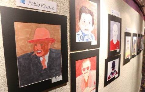 Art department prepares for upcoming show