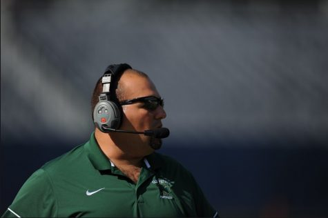 Coach Guerra loves Saint Patrick