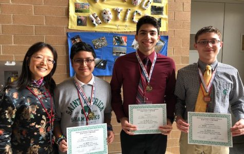 Shamrocks earn first-time medals at Chinese speech contest