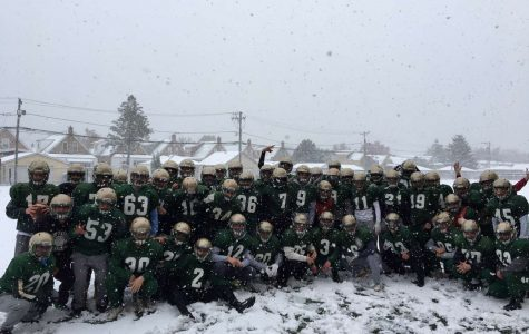 Shamrock football competes in Prep Bowl