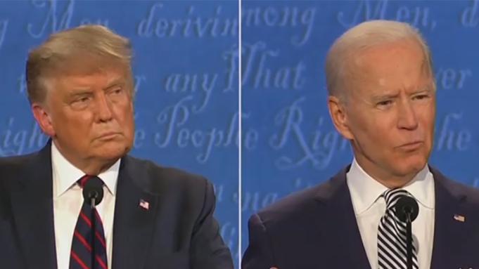 Trump, Biden Engage in Final Presidential Debate of 2020
