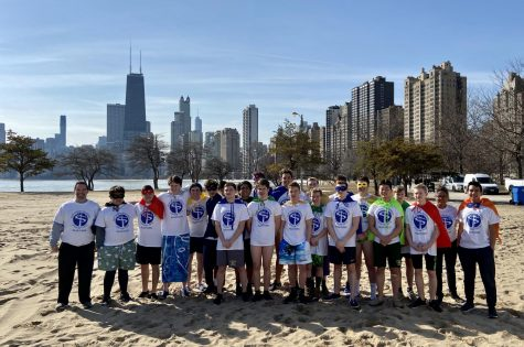 Shamrocks Participate in Chicago Polar Plunge