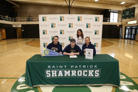 Senior Brett Berry to Play Baseball at Augustana